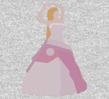 Girl In Pink Ballgown Kids Tee