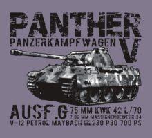 Panther Tank Kids Clothes