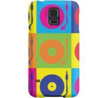 Vinyl Record Player Turntable Pop Art Samsung Galaxy Case/Skin