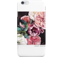 Blooms on Black 3 iPhone Case/Skin