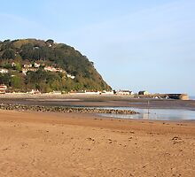 North Hill in Minehead by Dave Law