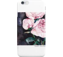 Blooms on Black 4 iPhone Case/Skin