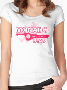 Monado Boys - Xenoblade Chronicles Women's Fitted Scoop T-Shirt