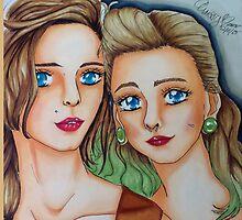 Suicide Girls Portrait  by happypaper87