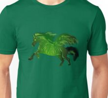 Green wing horse Unisex T-Shirt