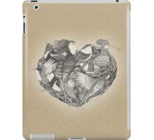 Little nest ink illustration iPad Case/Skin