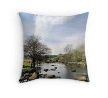 Ripples along the Duddon Throw Pillow