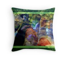 OUR WORLD ~ IS IN OUR HANDS Throw Pillow