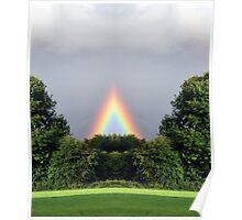 NEW AGE RAINBOW Poster