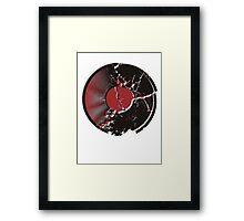 Vinyl Record Pop Art Explosion Framed Print