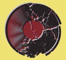 Vinyl Record Pop Art Explosion Kids Tee