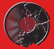 Vinyl Record Pop Art Explosion Kids Clothes