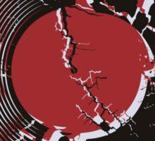 Vinyl Record Pop Art Explosion Sticker