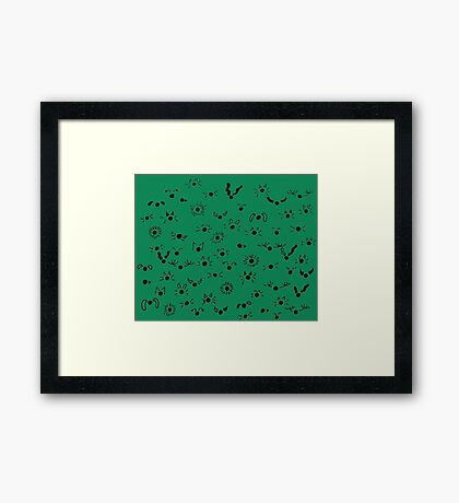 animals everywhere Framed Print