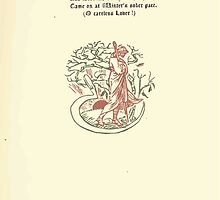 The Old Garden and Other Verses by Margaret Deland and Wade Campbell, Illustrated by Walter Crane 1894 80 - It Is Said The Peach Tree Sighed by wetdryvac
