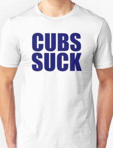 Milwaukee Brewers - CUBS SUCK Unisex T-Shirt