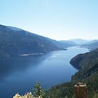Adams Lake, British Columbia, Canada. by Jeff Ashworth & Pat DeLeenheer