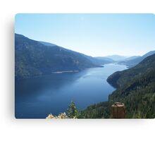 Adams Lake, British Columbia, Canada. Canvas Print