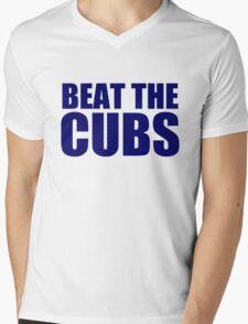 Milwaukee Brewers - BEAT THE CUBS Mens V-Neck T-Shirt