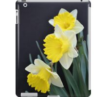 Three Daffodils iPad Case/Skin