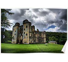 Old Wardour Castle Poster