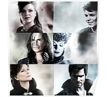 Once Upon A Time 6 Villains Poster