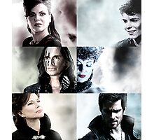 Once Upon A Time 6 Villains Photographic Print