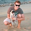 17. Scott & his Pug by Cathie Brooker