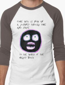 The Mighty Boosh - Time and Space Men's Baseball ¾ T-Shirt
