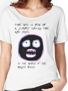 The Mighty Boosh - Time and Space Women's Relaxed Fit T-Shirt