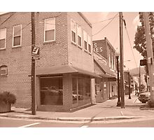 Small Town Living. Picture one Photographic Print