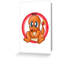 Charmander Greeting Card