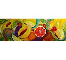 Fruitboard Photographic Print