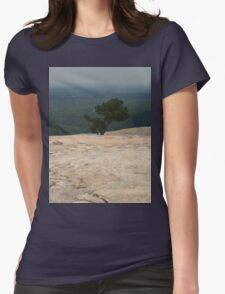 Mountain top Womens Fitted T-Shirt