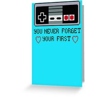 Never Forget Your First Nintendo Greeting Card
