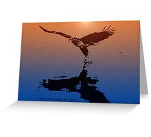 *Graceful Reflection* Greeting Card