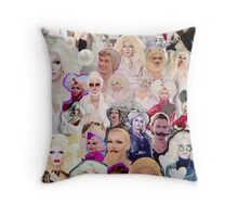 Show me your #PearlFace Throw Pillow