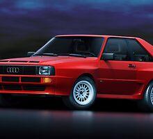 Audi Sport Quattro by Marc Orphanos