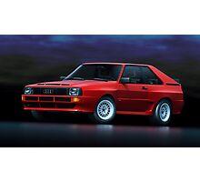 Audi Sport Quattro Photographic Print