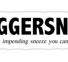 Juggersnot Sticker