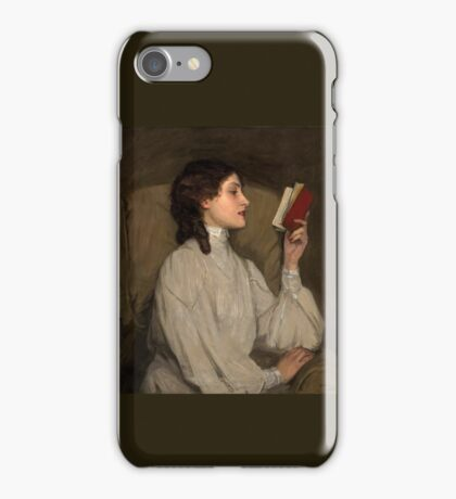 Red Book - Vintage Art iPhone Case/Skin