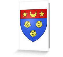Longueuil Coat of Arms  Greeting Card