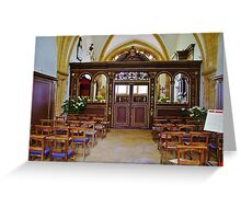 Easter Chapel Greeting Card