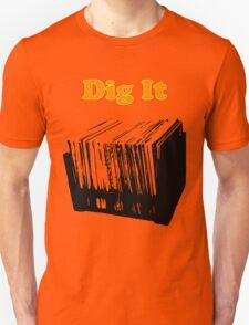 Dig It Vinyl Record Crate T-Shirt