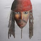 Captain Jack Sparrow by starbuggirl