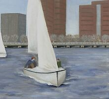 Sailing the Charles by Barbara Weir