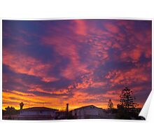 sky colours Poster