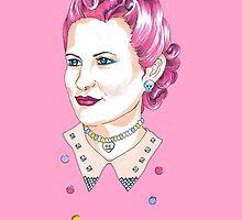 Candy Buttons by Allise Noble