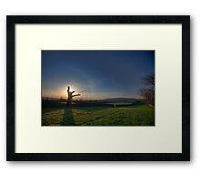 Yorkshire Sunrise Framed Print