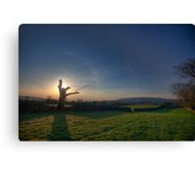 Yorkshire Sunrise Canvas Print
